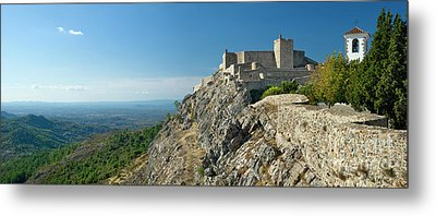 Marvao Castle Metal Print