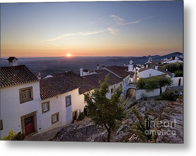 Marvao Dawn Metal Print