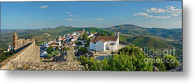 Marvao, The Walled Medieval Town Metal Print