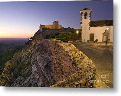 Marvao Twilight Metal Print