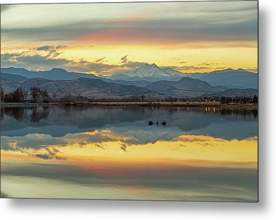 Metal Print featuring the photograph Marvelous Mccall Lake Reflections by James BO Insogna