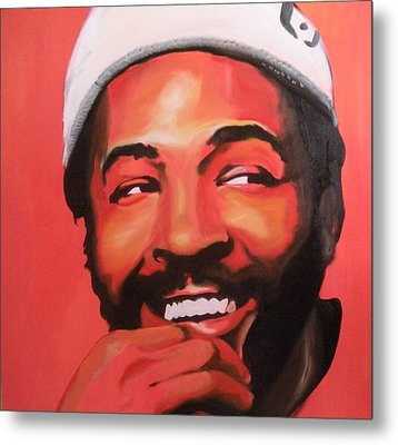 Marvin Gaye Metal Print by Matt Burke