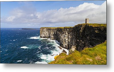 Marwick Head Rspb Nature Reserve Metal Print by Kav Dadfar