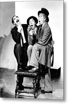 Marx Brothers, The Groucho, Chico Metal Print