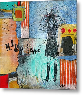 Mary Jane Metal Print by Laura  Lein-Svencner