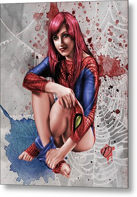 Mary Jane Parker Metal Print by Pete Tapang