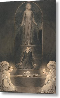 Mary Magdalen At The Sepulcher Metal Print by Mountain Dreams