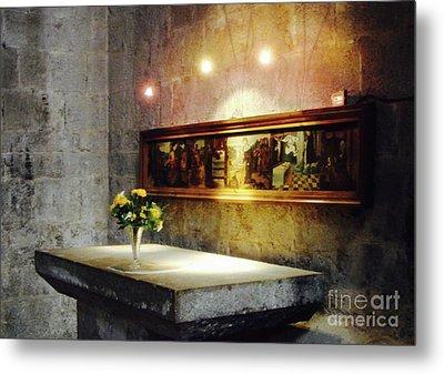 Mary Magdelene's Altar Metal Print