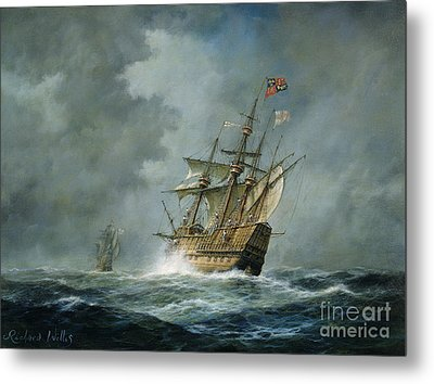 Mary Rose  Metal Print by Richard Willis