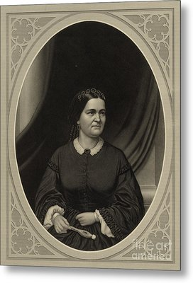Mary Todd Lincoln, First Lady Metal Print