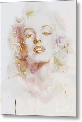 Marylin Monroe Metal Print by Jacky Gerritsen