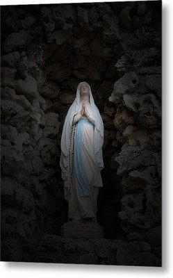 Marys Prayer II Metal Print