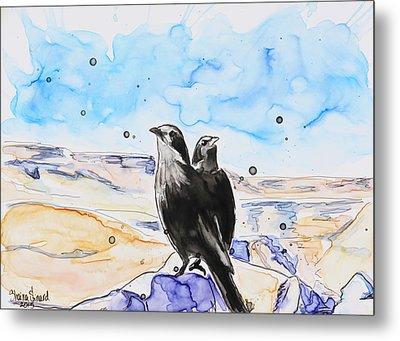 Masada Metal Print by Shaina Stinard