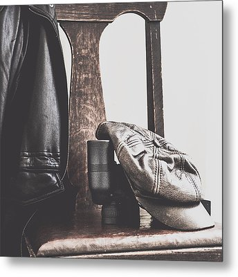 Masculine Still Metal Print by Beverly Cazzell