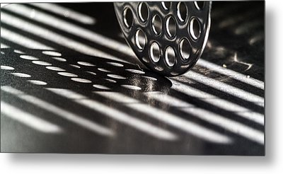Masher Shadows Metal Print