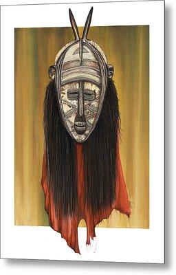 Mask I Untitled Metal Print