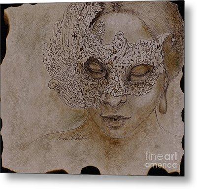 Masquerade Metal Print by Enzie Shahmiri