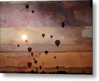 Mass Ascension Metal Print by Rick Mosher