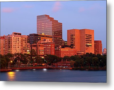 Metal Print featuring the photograph Massachusetts General Hospital by Juergen Roth