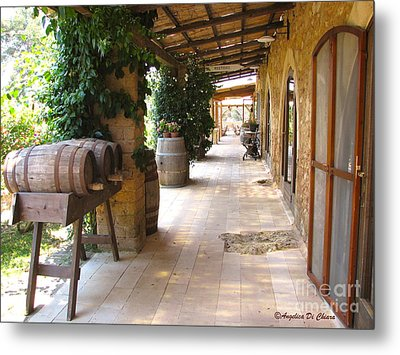 Masseria - Farm In Apulia Metal Print