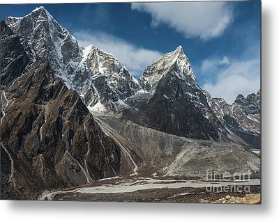 Metal Print featuring the photograph Massive Tabuche Peak Nepal by Mike Reid