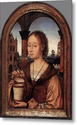 Massys Quentin St Mary Magdalene Metal Print
