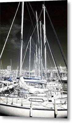 Mast Angles Metal Print by John Rizzuto