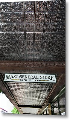 Metal Print featuring the photograph Mast General Store II by Skip Willits