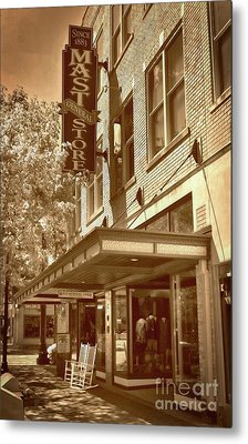 Metal Print featuring the photograph Mast General Store by Skip Willits