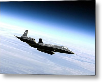 Master Of The Skies Metal Print by Peter Chilelli
