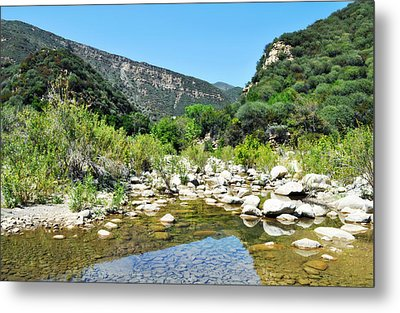 Metal Print featuring the photograph Matilija Hot Springs by Kyle Hanson