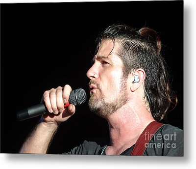 Matt Nathanson Metal Print by Cindy Manero