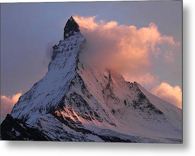 Matterhorn At Dusk Metal Print