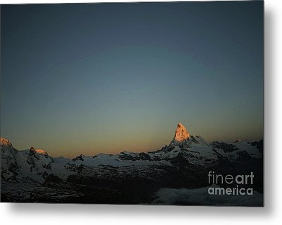 Metal Print featuring the photograph Matterhorn At Sunrise by Christine Amstutz