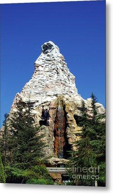 Matterhorn Disneyland Metal Print