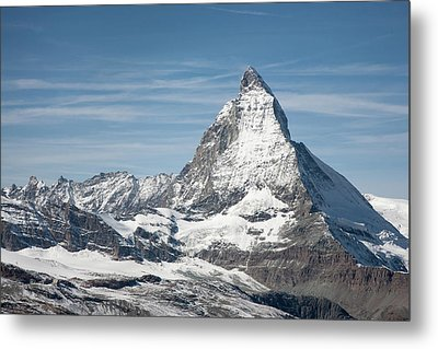 Matterhorn Metal Print by Marty Garland