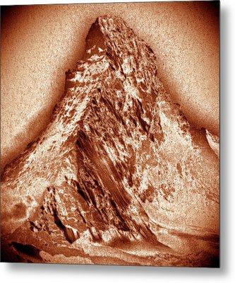 Matterhorn Mountain Metal Print