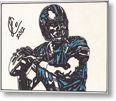 Matthew Stafford Metal Print by Jeremiah Colley