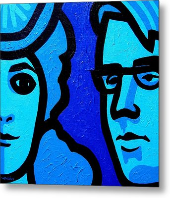 Maud Gonne And William Butler Yeats Metal Print