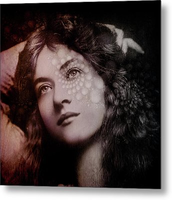 Maude Metal Print by Kathleen Holley