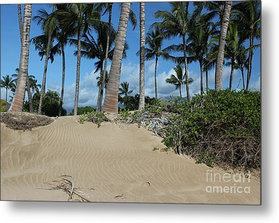 Metal Print featuring the photograph Maui Beach by Wilko Van de Kamp