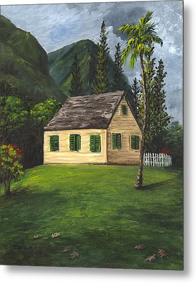Metal Print featuring the painting Maui Nature Center by Darice Machel McGuire