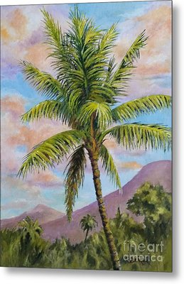 Maui Palm Metal Print by William Reed