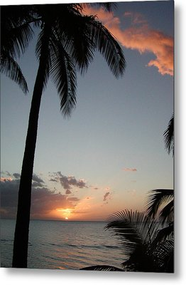 Maui Sunset Metal Print by Dustin K Ryan