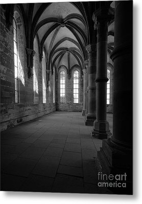 Maulbronn Monastery Refectory Metal Print by Rudi Prott