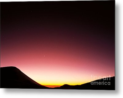 Mauna Kea, Summit Metal Print by Mary Van de Ven - Printscapes