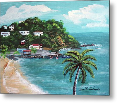 Maunabo Puerto Rico Metal Print by Luis F Rodriguez