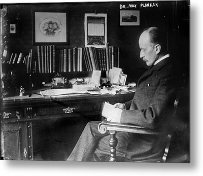 Max Planck 1858-1947, German Physicist Metal Print by Everett