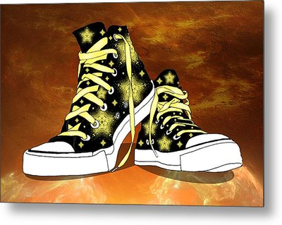 May I Converse With You Metal Print