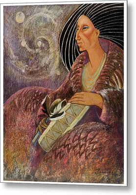 Mayan From Milky Way Gallacy Metal Print